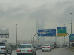 Riyadh (SaudiSoul) Tags: cloud mer tower highway kingdom saudi riyadh fahad riyad