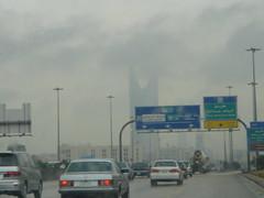 Riyadh (SaudiSoul) Tags: cloud mer tower highway kingdom saudi riyadh fahad riyad الرياض المملكة طريق الملك فهد