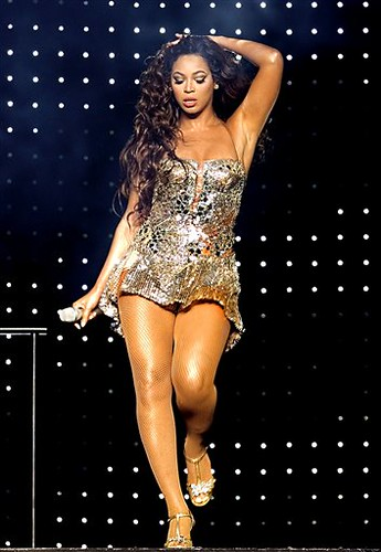 Beyonce Knowles performs during a concert at Madison Square Garden in New York