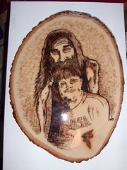 Love thy brother (yeahitsjohnblack) Tags: wood burn