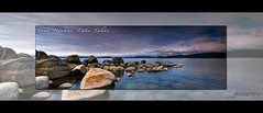 Lake Tahoe (Neal Pritchard Photography) Tags: blue panorama storm water weather clouds canon landscapes photos nevada lakes laketahoe images panoramic granite 5d canon5d limited 31