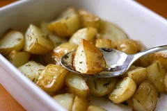 Rosemary and garlic roast potatoes