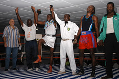 DSC_1348 (Fdration Ivoirienne de Boxe) Tags: africa sport fight boxer afrika boxing fib boxe westafrika ctedivoire afrique ivorycoast abidjan boxen kampf championnat boxkampf fightsport boxring boxeur elfenbeinkste sportfotografie treichville profiboxer sportphotographer koumassi afriquedouest fdrationivoiriennedeboxe parcdesports boxmeisterschaft africansports sportjournalismus stefanmeisel boxamateur palaisdesports sportjournaliste