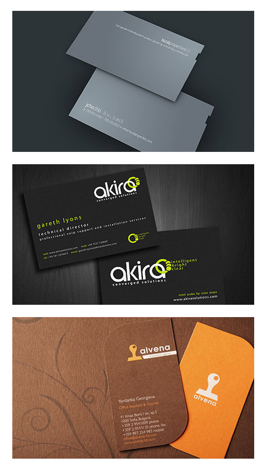 36 Beautiful Business Card designs