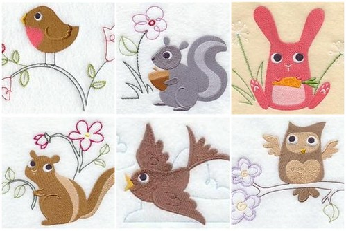 Crafty Critters Embroidery Set