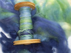 the Natural Dye Company (StrandedYarnsUK) Tags: ocean spinning fibre
