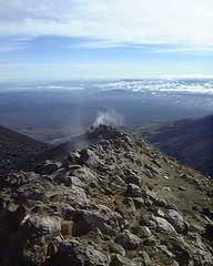 vent on the Tongarino volcano, NZ
