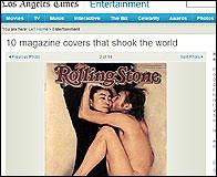 La portada de Lennon y Ono