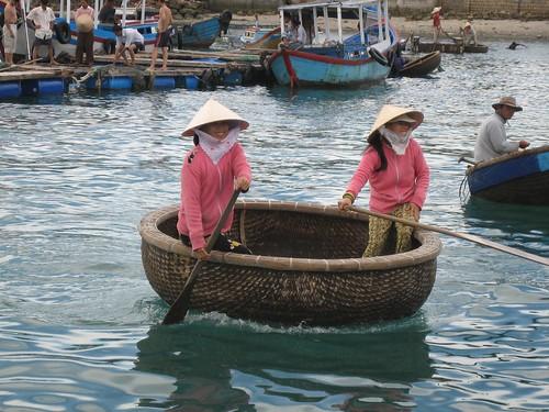 Vietnam Basket Boat
