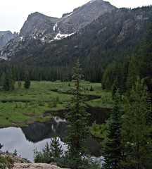 Valley Stream (mtncanyon) Tags: lake mountains creek colorado eagle indian peak trail crater lone wilderness peaks cascade