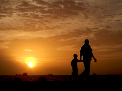 father & son (f i  a s) Tags: sunset male silhouette dead island gold evening asia walk father capital crab dry son nelson terror terrorism maldives pathetic apathy mandela apartheid dhivehi saarc golddragon raajje colorphotoaward aplusphoto uniquemaldives theunforgettablepictures firax goldstaraward
