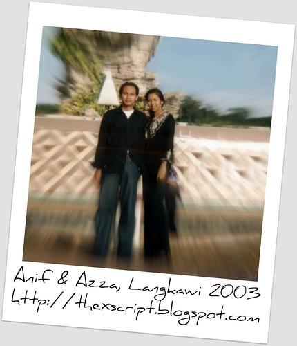 Anif & Azza - Langkawi 2003