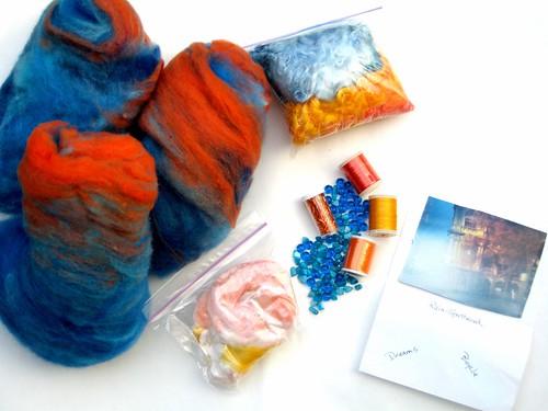 Novelty & Art Yarn Spinning Challenge Swap