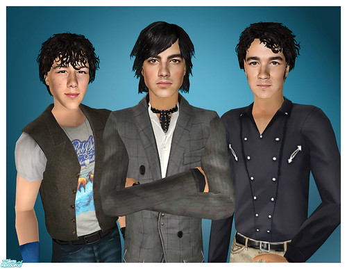 The Jonas Brothers Are Sims! by Amy Loves Nick :D.