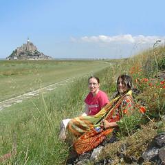 I with my daughter Nina at the Mont St. Michel (olga_rashida) Tags: france bretagne 1001nights montstmichel abigfave 1001nightsmagiccity