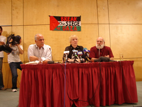 Press conference free gaza da freegazaorg.