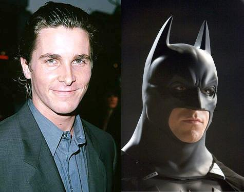 batman -christian bale- por ti.