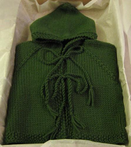 green baby hoodie 080708
