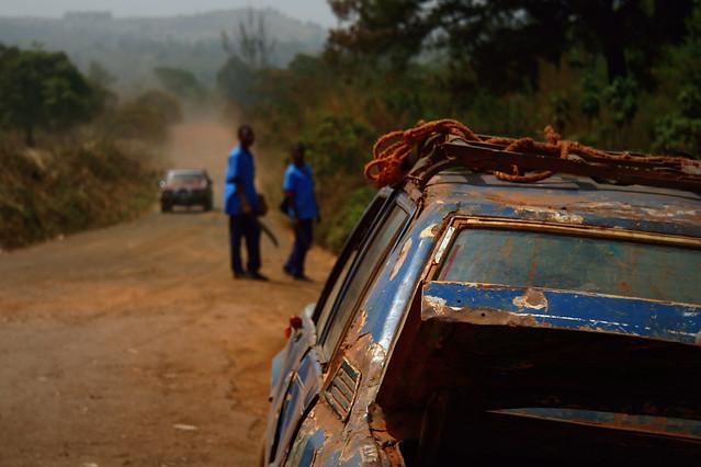 Cameroon Bush Taxi