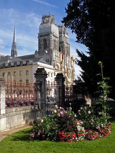 Mairie et Cathédrale d'Orléans
