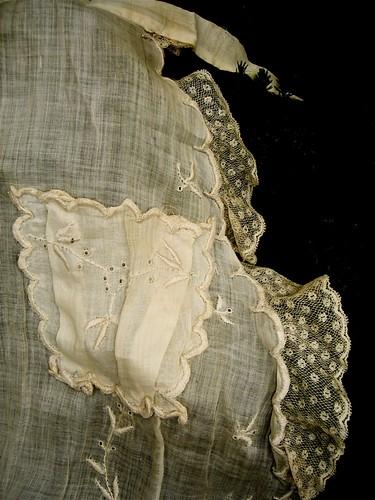 romantic vintage apron