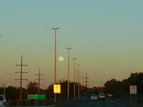 vejo a lua no céu