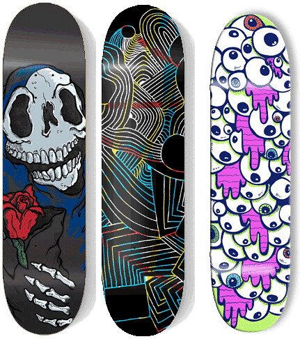 Atomic skateboards