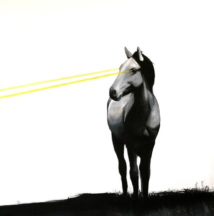 laser horse 2
