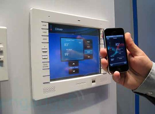 Creston Home Automation Meets iPhone