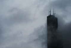 (Week 37) Words Fell (Universal Stopping Point) Tags: chicago rain clouds illinois searstower foggy dreary rainy lucindawilliams songinspiration music52 wordsfell slightlybrightenedandcontrasted