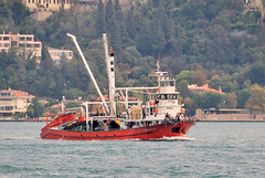 """Barbaroslari"" returns to Istanbul from fishing on the Black Sea, Turkey, 20 September 2008 (Ivan S. Abrams) Tags: coastguard docks turkey boats nikon mediterranean ataturk ships istanbul getty lighters nikkor shipping tugs straits ports nikondigital blacksea gallipoli ferries harbors watercraft bosphorus tugboats gettyimages vessels freighters tankers harbours cruiseships barges smrgsbord warships destroyers ferryboats navyships speedboats frigates internationaltrade classicboats seaofmarmara navies containerships portcities navalvessels bulkcarriers nikonprofessional chokepoints onlythebestare boatnerd ivansabrams trainplanepro nikond300 shippinglanes internationalshipping sealanes ivanabrams worldwideshipspotters servicecraft gettyimagesandtheflickrcollection feriobots coastalfreighters marinecommerce internationalcommerce maritimecommerce seaportsseaportmaritime crossroadsasiaeuropebosforbogazasia minorboxesintermodal tugobats copyrightivansabramsallrightsreservedunauthorizeduseofthisimageisprohibited tucson3985gmailcom copyrightivansafyanabrams2009allrightsreservedunauthorizeduseprohibitedbylawpropertyofivansafyanabrams unauthorizeduseconstitutestheft thisphotographwasmadebyivansafyanabramswhoretainsallrightstheretoc2009ivansafyanabrams abramsandmcdanielinternationallawandeconomicdiplomacy"