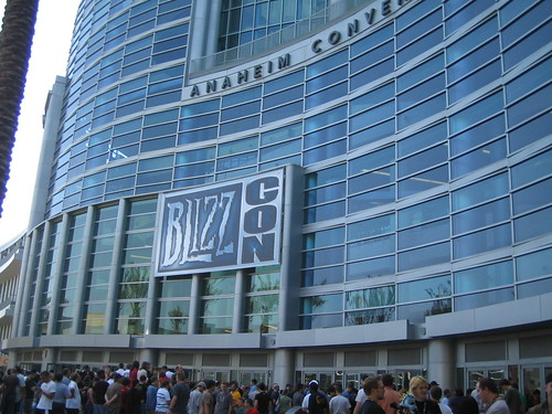 edificio Blizzard en Blizzcon