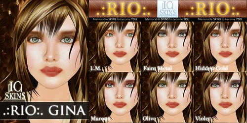 IC-Skins Rio Gina Neutral Red