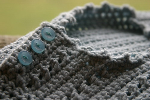 button and picot detail