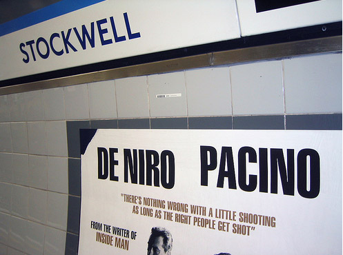 Righteous Kill Ad at Stockwell taken by coconinoco
