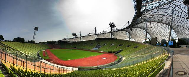 Olympiastadion Munich Panorama HDR