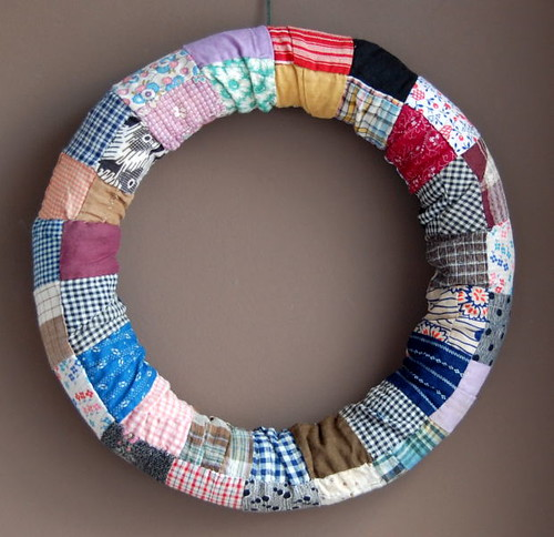 DIY :: patchwork wreath