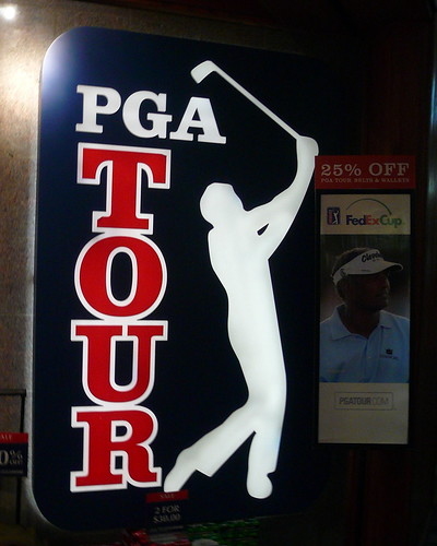 PGA Tour Sign September 2008