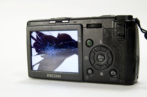 Broken Liquid Crystal, Ricoh GR Digital