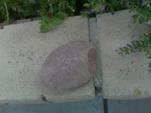 Rocks. Hurt.