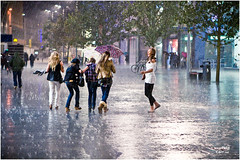 Light Rain (petecarr) Tags: street rain liverpool mobformat11decisivemoment