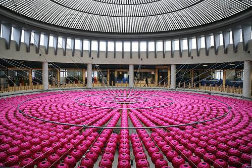 Kimsooja - Lotus: Zone of Zero, 2008