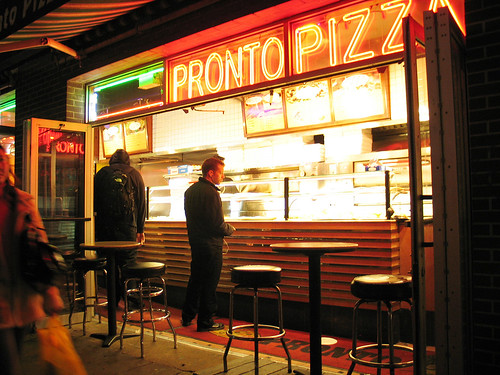 Pronto Pizza, New York
