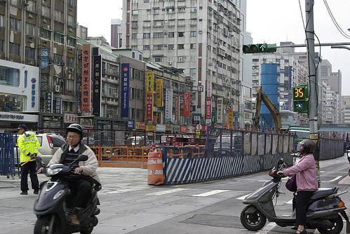 Traffic in Taipei