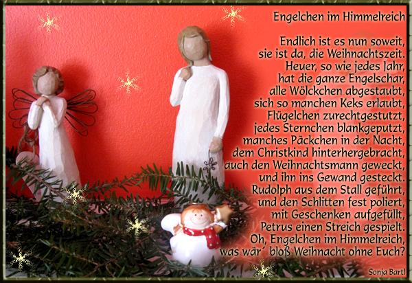 Weihnachten Engel Gedicht