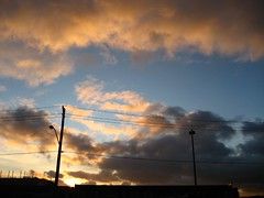 Sunset Blue (fragileheart) Tags: blue sunset sky clouds sunsetcolours
