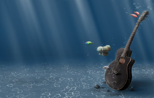guitars wallpaper. guitars 3d wallpaper