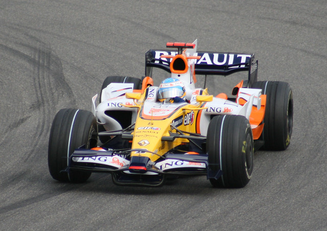 Fernando Alonso F1 Renault China Grand Prix 2008