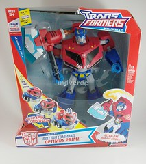 Transformers Optimus Prime Animated - caja (by mdverde)