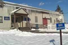 Icicles (bluesleepy) Tags: snow ice winterweather navalstationnewport